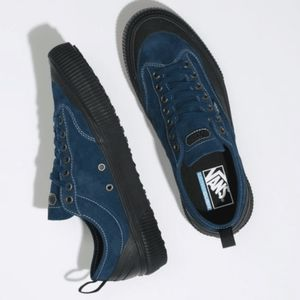 Vans Destruct SF Mens Blue & Black Low Top Shoes